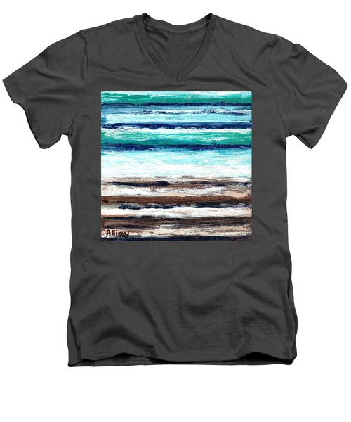 Surf And Turf Men's V-Neck T-Shirt
