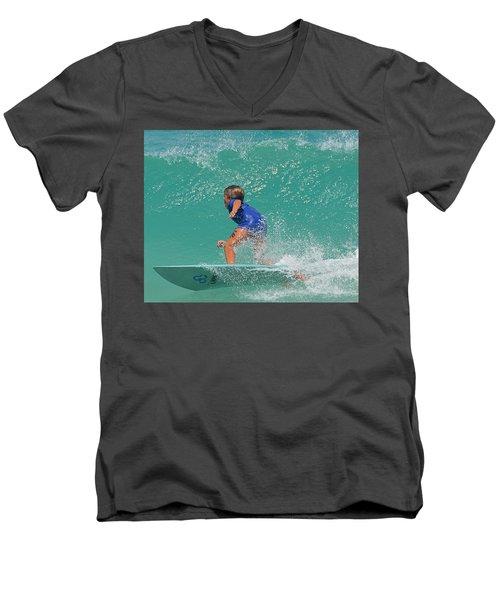 Surfer Boy Men's V-Neck T-Shirt