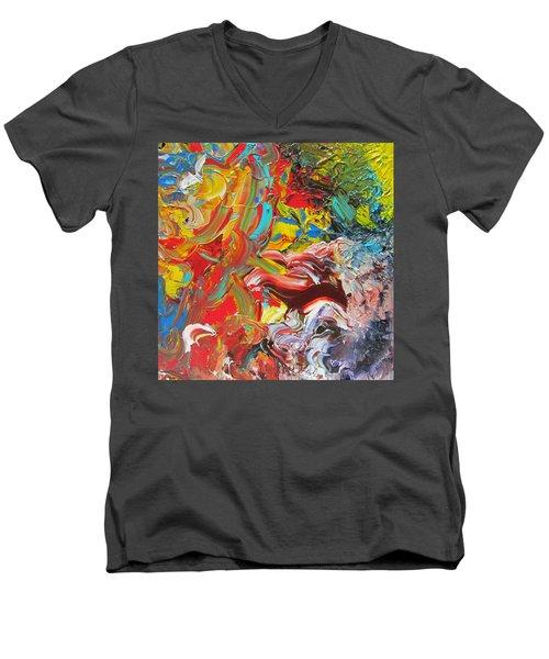 Surprise Men's V-Neck T-Shirt by Ralph White