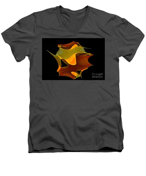 Surreal Shape Men's V-Neck T-Shirt by Thibault Toussaint
