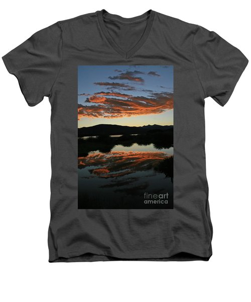 Surreal Sunrise Men's V-Neck T-Shirt