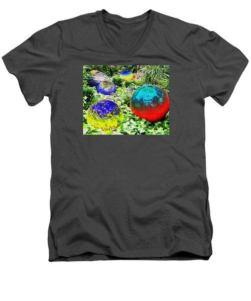 Surrreal Gardens Men's V-Neck T-Shirt