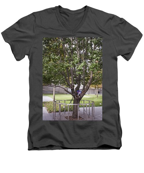 Survivor Tree Men's V-Neck T-Shirt