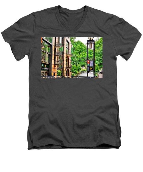 Sw Broadway Men's V-Neck T-Shirt