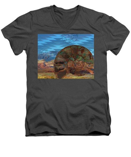 Sw Fossil Float Men's V-Neck T-Shirt