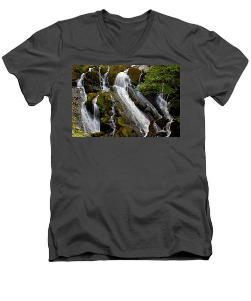 Swallow Falls Men's V-Neck T-Shirt