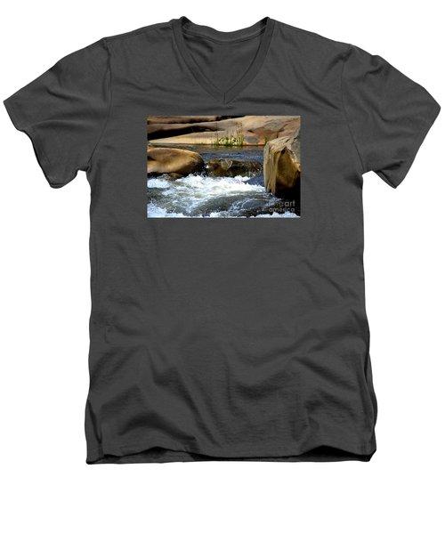 Swallowed Alive Men's V-Neck T-Shirt