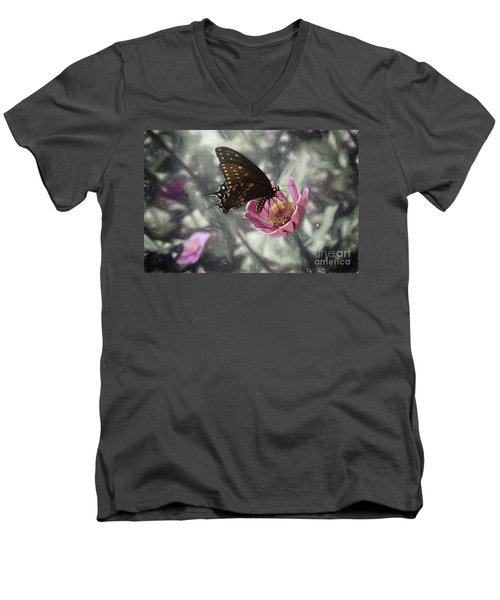 Swallowtail In A Fairytale Men's V-Neck T-Shirt