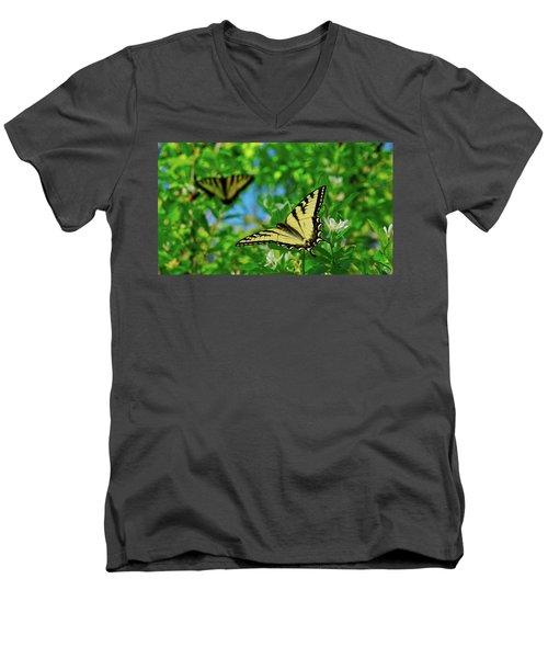 Swallowtails Men's V-Neck T-Shirt