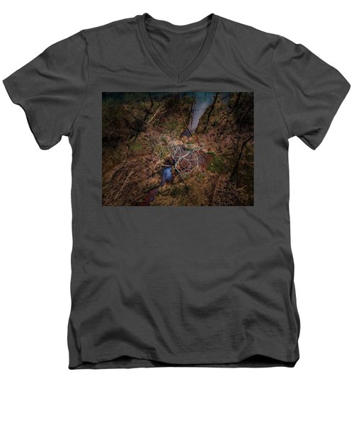 Swamp Tree Men's V-Neck T-Shirt