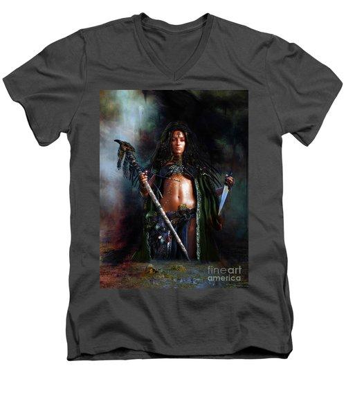 Swamp Witch Men's V-Neck T-Shirt