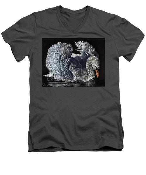 Swan #2 Men's V-Neck T-Shirt
