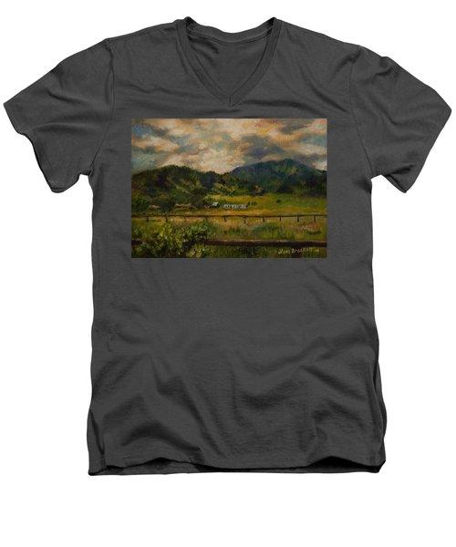 Swan Valley Hillside Men's V-Neck T-Shirt