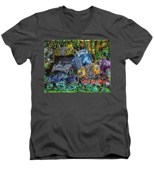 Swedish Scrapyard Men's V-Neck T-Shirt