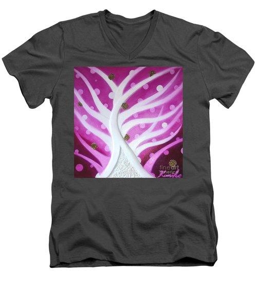 Sweet Birth Men's V-Neck T-Shirt