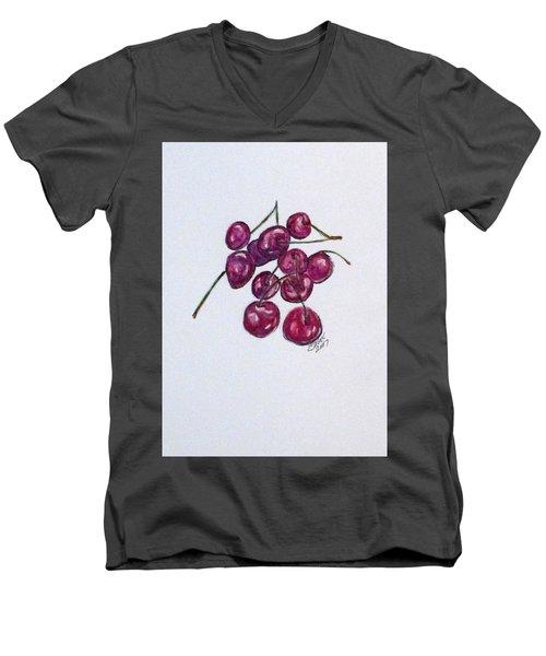 Sweet Cherry Men's V-Neck T-Shirt