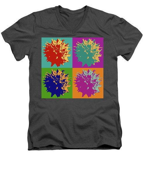 Sweet Gum Balls Men's V-Neck T-Shirt