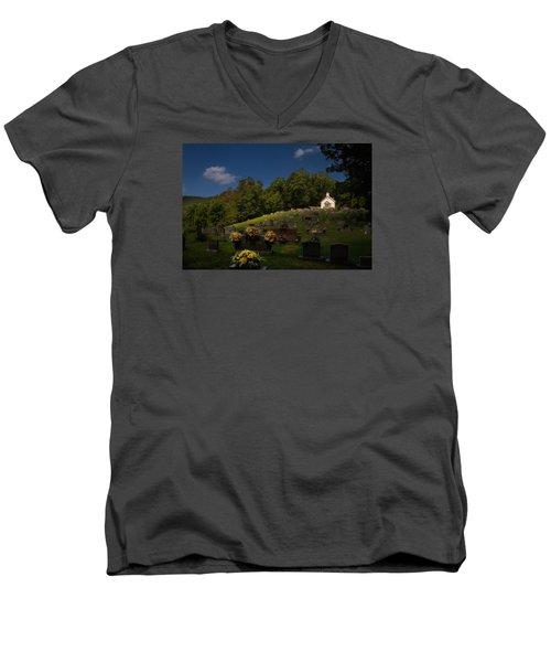 Sweet Little Church Men's V-Neck T-Shirt