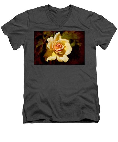 Sweet Rose Men's V-Neck T-Shirt
