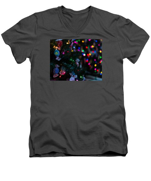 Sweet Sparkly Men's V-Neck T-Shirt
