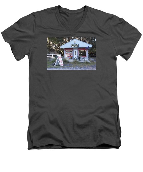 Sweet Teas And Fried Chicken Men's V-Neck T-Shirt