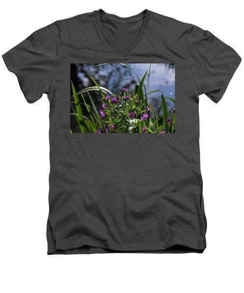 Sweet Violet Men's V-Neck T-Shirt