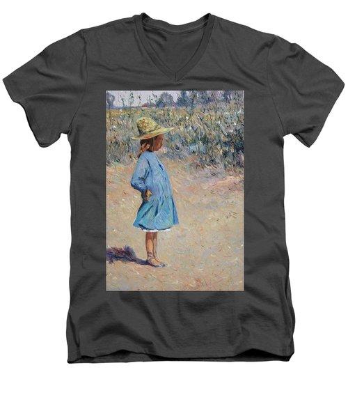 Sweetheart  Men's V-Neck T-Shirt