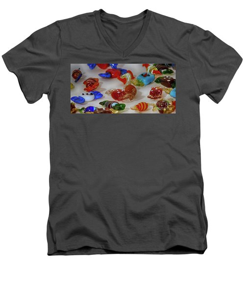 Sweets For My Sweet 4 Men's V-Neck T-Shirt