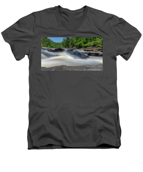Sweetwater Creek Long Exposure Men's V-Neck T-Shirt