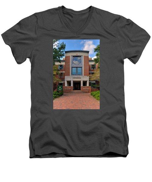 Swem Library Men's V-Neck T-Shirt