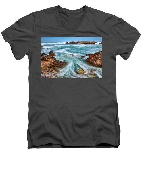Swept Away Men's V-Neck T-Shirt