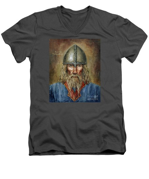 Sweyn Forkbeard Men's V-Neck T-Shirt