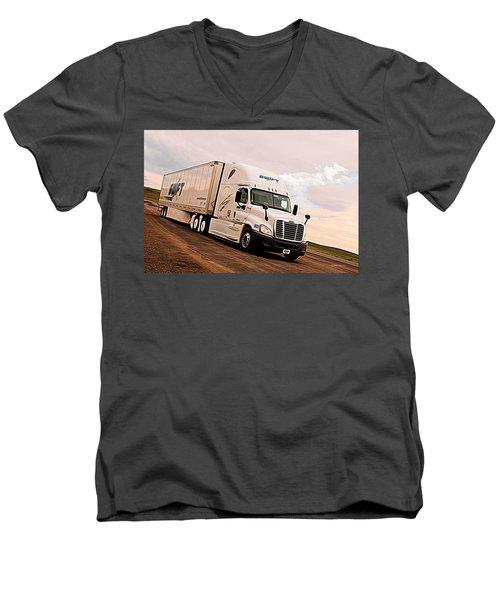 Swift Digital Art Painting #2b Men's V-Neck T-Shirt