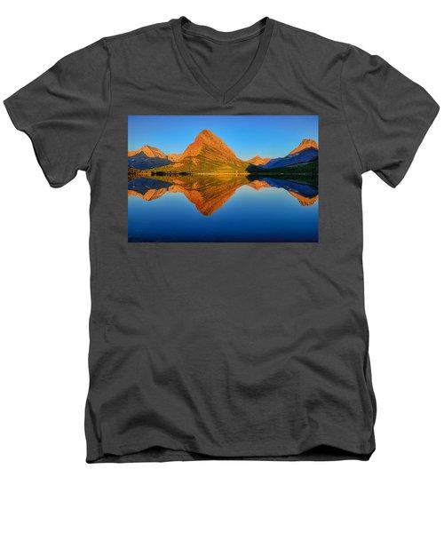 Swiftcurrent Morning Reflections Men's V-Neck T-Shirt