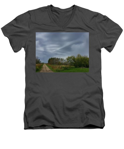 Swirel Men's V-Neck T-Shirt