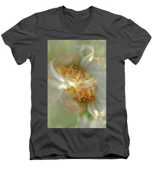 Flower Swirl.... Men's V-Neck T-Shirt