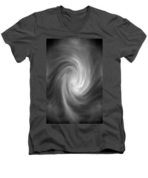 Swirl Wave Iv Men's V-Neck T-Shirt