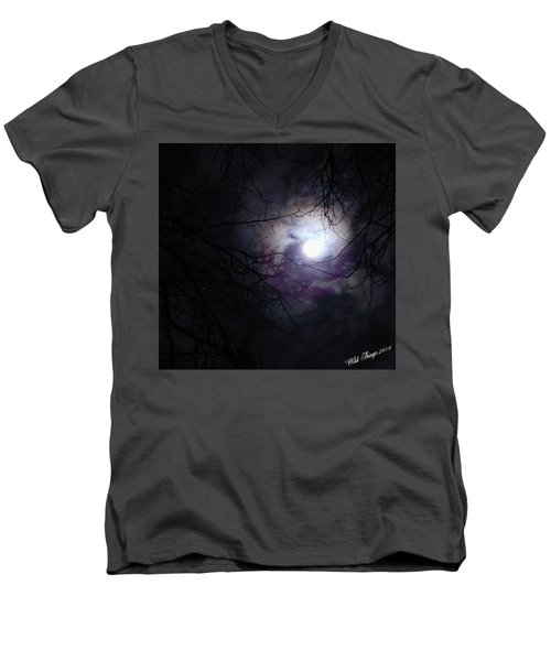 Swirling Around Men's V-Neck T-Shirt