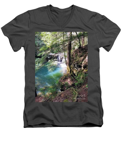 Sycamore Falls Men's V-Neck T-Shirt
