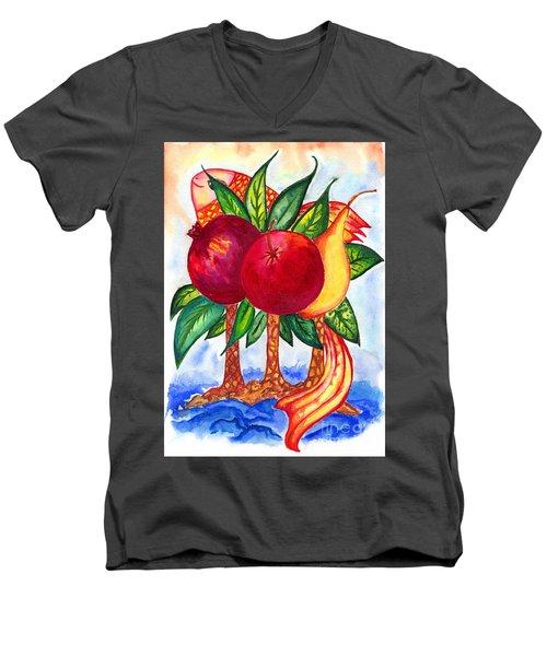 Symbolics Men's V-Neck T-Shirt