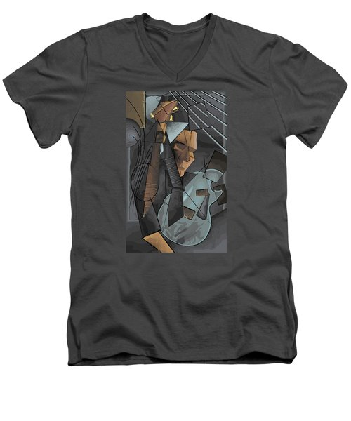 Syncopation Men's V-Neck T-Shirt