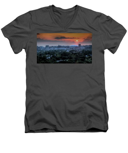 Syracuse Sunrise Men's V-Neck T-Shirt