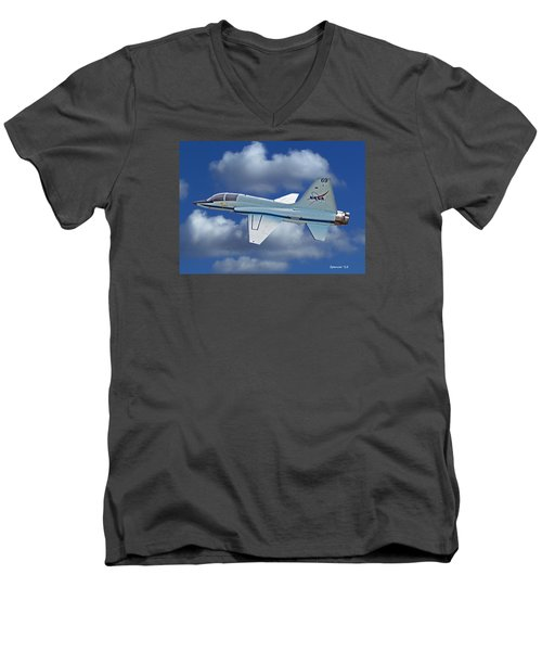 T-38 Nasa Trainer Men's V-Neck T-Shirt