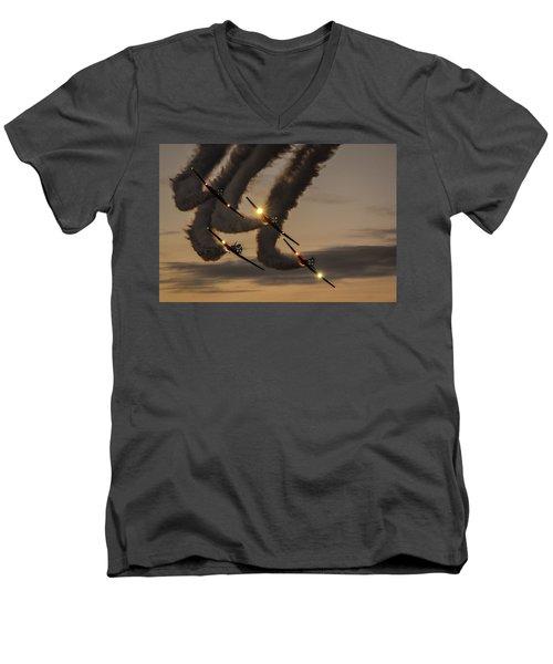 T-6 Tango Men's V-Neck T-Shirt