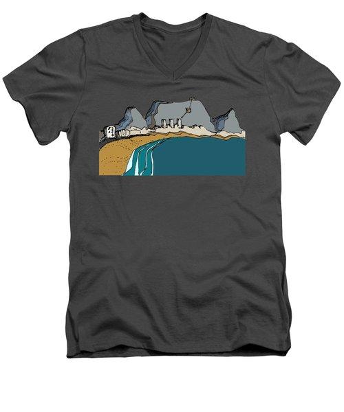 Table Mountain Men's V-Neck T-Shirt
