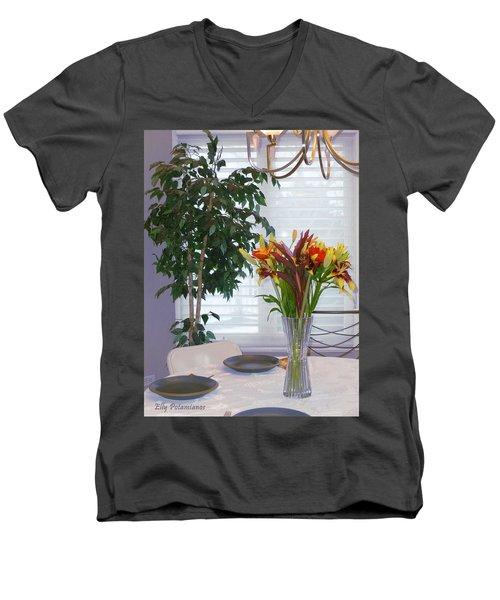Tabletop Men's V-Neck T-Shirt