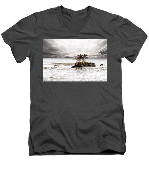 Gorgeous Tahiti Men's V-Neck T-Shirt
