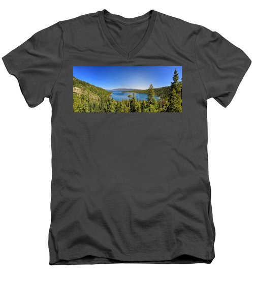 Tahoe Moutain View Men's V-Neck T-Shirt