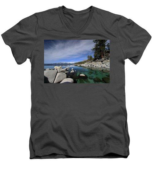 Tahoe Wow Men's V-Neck T-Shirt