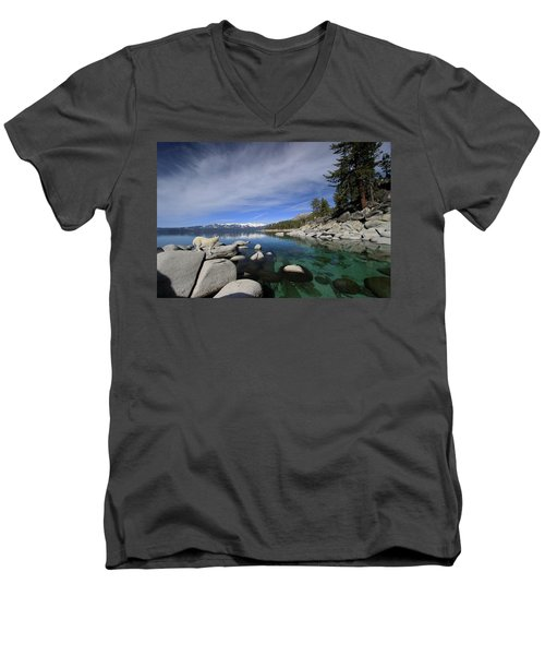 Tahoe Wow Men's V-Neck T-Shirt